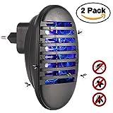 Konesky Moskito Repellent Insektenvernichter, Bug Zapper Elektronische Moskito Killer Lampe Licht für Home Küche Outdoor Garten (2 Pack)