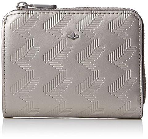 Nica Damen Gina Münzbörsen, Silver (Metallic Silver), One Size (Metallic One Pocket)