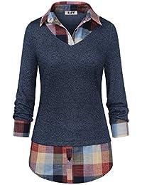 fae5c337071d Amazon.de  Blusen   Tuniken - Tops, T-Shirts   Blusen  Bekleidung