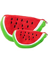 Tickles Hot Summer Season Watermelon Coin pourse Pocket Wallet for kids womens Girls (Set Of 2)
