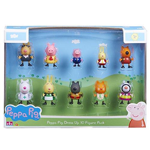 Peppa Wutz 06529Figuren-Set mit Verkleidungen (10-teiliges (Pig Peppa Kostüm The)