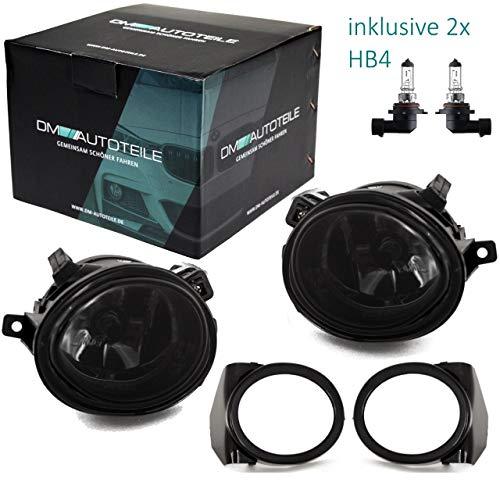 DM Autoteile E46 E39 Nebelscheinwerfer Klarglas Smoke Schwarz Kompatibel für M M3 M5