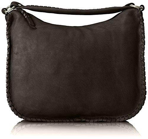 Amsterdam Cowboys Damen Bag Orford Henkeltaschen, Schwarz (Black 100), 40x33x11 cm