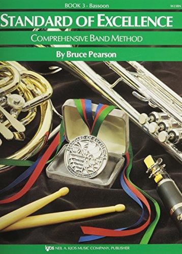 Standard Of Excellence: Comprehensive Band Method Book 3 (Bassoon) (Bassoon): Noten, Lehrmaterial für Fagott