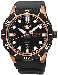 Seiko Herren - Armbanduhr 5 Analog Automatik Kautschuk SRP680K1