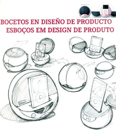 Bocetos en diseño de producto = Esboços em design de produto