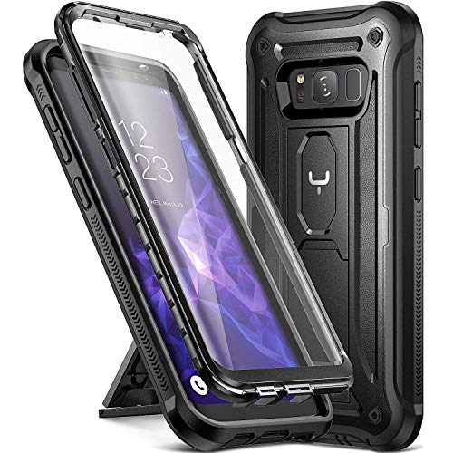 Youmaker cavalletto custodia Galaxy S8, corpo protezione schermo integrata Heavy Duty protezione antiurto robusto cover Samsung Galaxy S8 14,2 cm Cruz V2 Fresh Foam