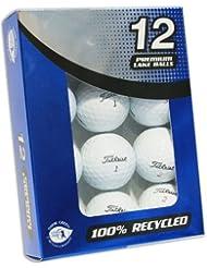 Titleist - Lote de 12 pelotas de golf (grado A, recuperadas)