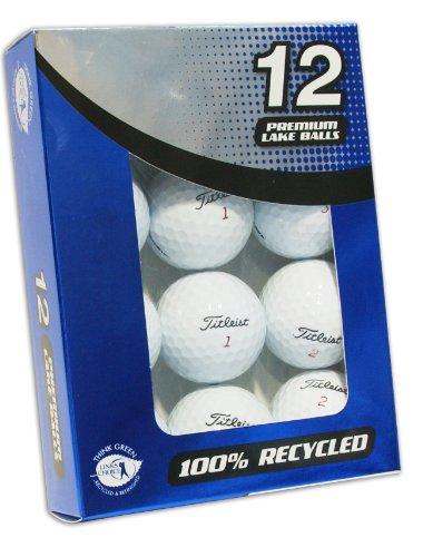 Second Chance Premium Titleist 12 balles de golf recyclées...