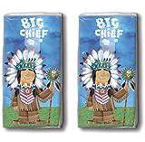2x 10 Taschentücher Big Chief – Großer Häuptling / Indianer / Motivtaschentücher
