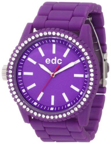 edc by esprit Women's EE100752004 Stone Starlet Crazy Purple Watch