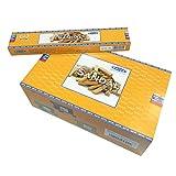 Räucherstäbchen 180g Satya Sandal Sandelholz 12 Schachteln Supreme Incense Duft Raumduft