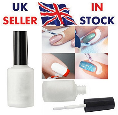 free-shipping-nail-art-peel-off-liquid-tape-base-cream-polish-palisade-white-latex-14ml