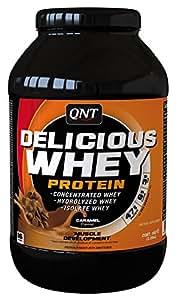 QNT Delicious Whey Protein Powder - 1 kg (Caramel)