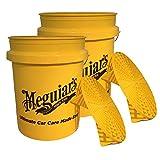 Meguiar's 2X MEGUIARS 650120 Grit Guard Einsatz + Eimer mit Einsatz Putzeimer 1 Stück