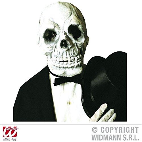 Latexmaske Totenschädel Skull Totenkopf für Erwachsene (Skull Maske Der Tod)