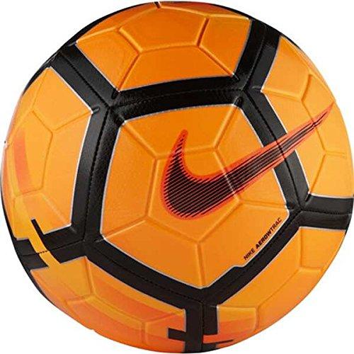the latest d34f3 352af Nike Unisex s Strike Ball, Total Orange Hyper Crimson Black, Size 5