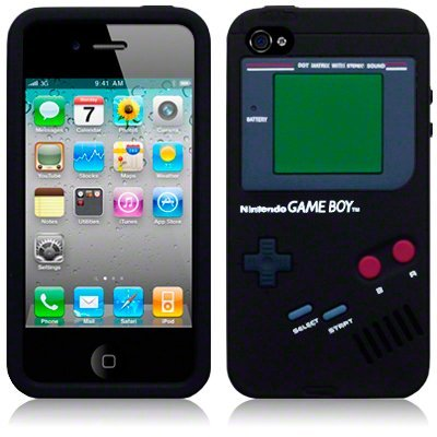 Black Nintendo Case for iPhone 5S