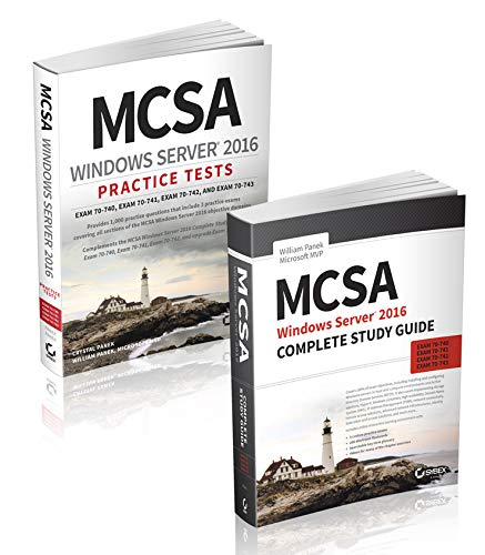 Mcsa Windows Server 2016 Complete Study Guide & Practice Tests Kit