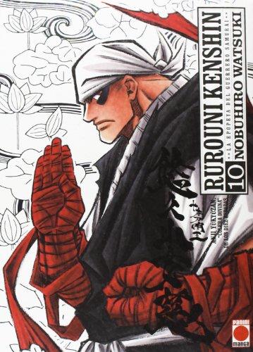 Rurouni kenshin,10 integral editado por Panini / marvel