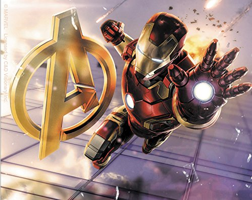 "Preisvergleich Produktbild THE AVENGERS 2 Movie Age Of Ultron Iron Man A,Officially Licensed Marvel Artwork, 4"" x 5"" - Sticker Aufkleber DECAL"