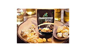 Leanbeing Frankincense Resin (100gm) | Monastery Incense | Olibanum | Boswellia Carterii | Frankincense Tears | Pure Frankincense Granules | | Organic Premium Incense