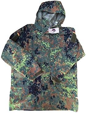 Parca alemana con patrones flektarn estilo militar Goretex