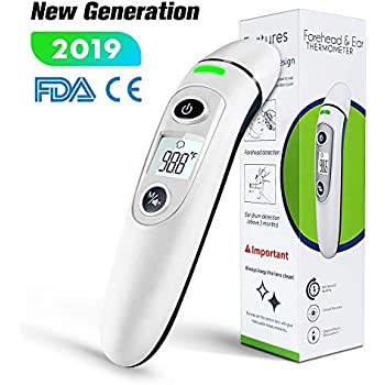 Baby Fast Deliver Beother Max 3 In 1 Digital Thermometer Accurate Infrared Tech Green