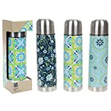 National Trust 500ml Thermal Flask Designer Collection Assorted Colours by Summit