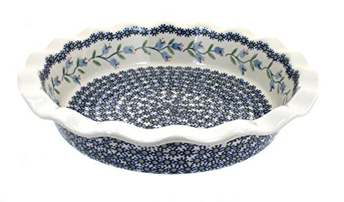 polish-pottery-tulip-pie-plate-by-blue-rose-pottery