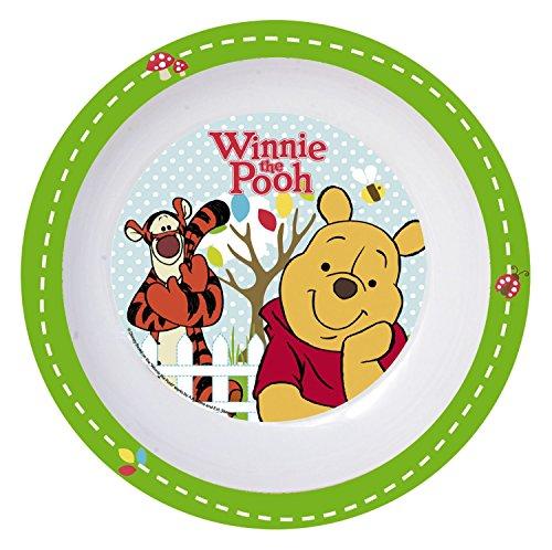 p:os 68916 Disney Winnie the Pooh Teller tief, Melamin, Durchmesser 19,5 cm