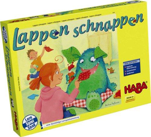 HABA 4658 - Lappen schnappen, Lernspielsammlung