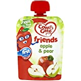 Cow & Gate Apple & Pear 100% Fruit with Vitamin C from 4-6 Months 80g