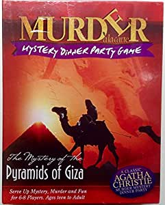 Murder Mystery Game - Pyramids Of Giza