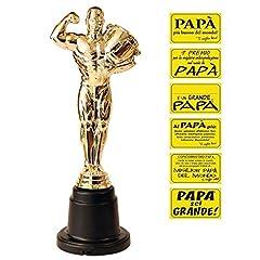 Idea Regalo - Bombo Statuetta Premio del papà