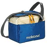 Mobicool Sail 6 Kühltasche Kühlbox 5 Liter - lebensmittelechte Picknick Tasche mit Schultergurt | Kühlsystem Isolierung (Blau)