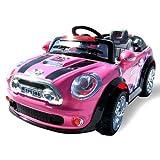 Kinder Elektroauto MINI Style 5388 Elektro Kinderauto Kinderfahrzeug (pink)