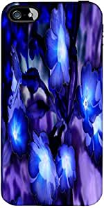 Snoogg Glowing Flowers Inspired 2634 Designer Protective Back Case Cover Fora...