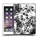 Head Case Designs Silber Schneeflocken Bokeh Weinachten Edition Soft Gel Hülle für Apple iPad Air 2
