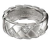 Geschenkidee Schmuck - Esprit Damen-Ring Braid Glam Sterling-Silber 925 Gr. 58 (18.5) 44435789180