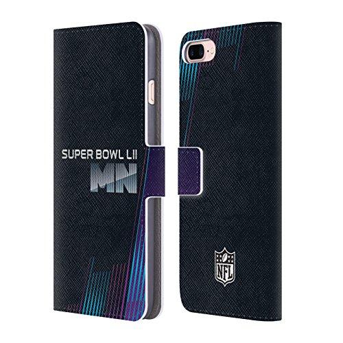 Ufficiale NFL Modelle 3 2018 Super Bowl LII Cover a portafoglio in pelle per Apple iPhone 5c Testo Minnesota 2