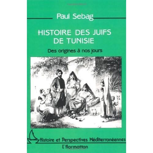 Histoire des juifs de Tunisie: Des origines à nos jours (Collection Histoire et perspectives méditerranéennes)