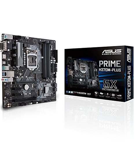 Asus Intel H370 LGA-1151 mATX - Placa iluminación