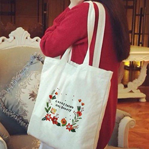 Weihnachten Style Baumwolle Henkeltasche Schultertasche Jutebeutel, kleine Waren Beauty