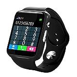 LCLrute Kind IP67 imprägniern Smart Watch GPS Tracker der Eignungs-Uhr-G10A (Schwarz)