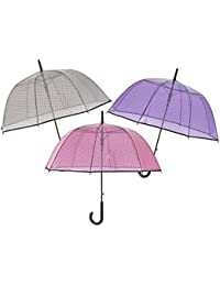 Paraguas mujer 61cm automatico dome shape poe de Perletti Flash
