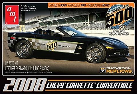 AMT 1:25 Scale 2008 Corvette Convertible Indy Pace