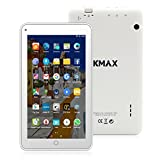 "ECVILLA KMAX Tablet da 7"" IPS Display, (Quad-Core, 16GB eMMC, Android 6.0) Bluetooth, WiFi"