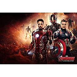 AMY-ZW Capitán América Rompecabezas De Madera Marvel Superhero Ilustración Viuda Negra Cartel Vengadores Cómics De Calar Juego De Los Juguetes For Los Regalos For Adultos For Niños