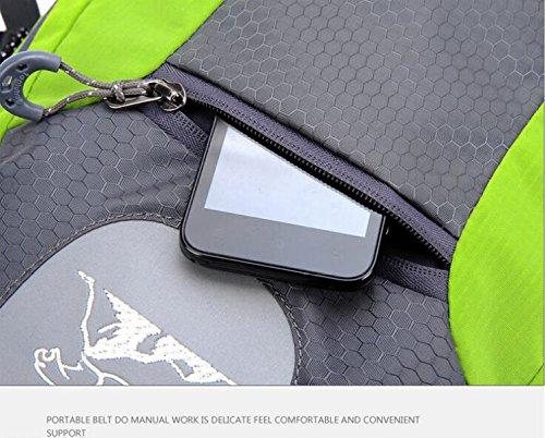 Yueer Esterna Escursionismo Uomini E Donne Universale Di Viaggio Spalle Di Grande Capacità Alpinismo Squadra Equitazione Zaini,B D